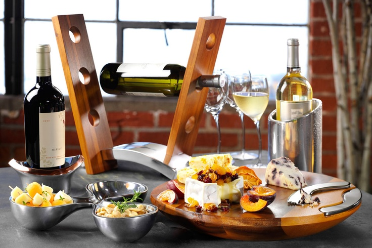 Wine and Cheese with Nambe: Gifts, Place