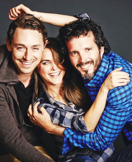 Cast of Austenland - JJ Feild, Kerri Russell and Bret McKenzie