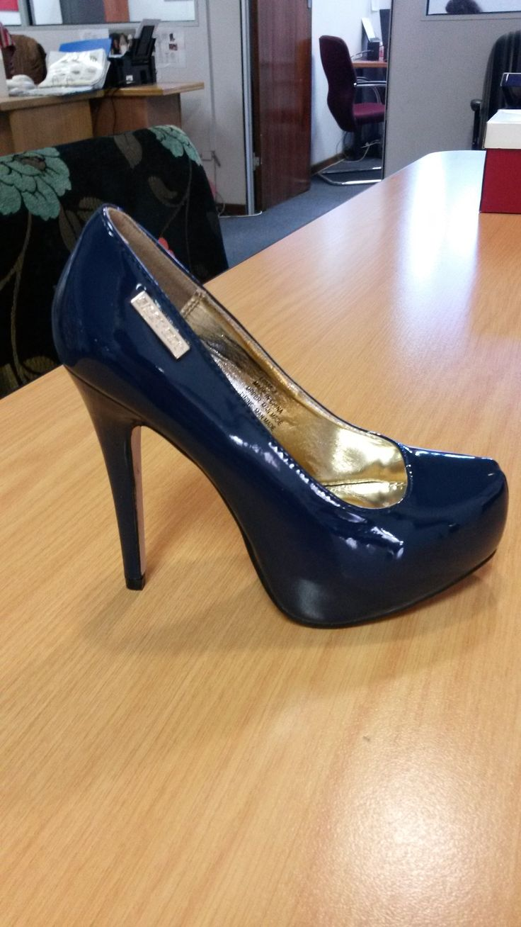 Pierre Cardin Ladies Navy Blue Shoes