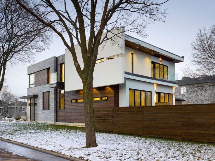 Alva Roy Architects Design A Single Family Home In Toronto, Canada