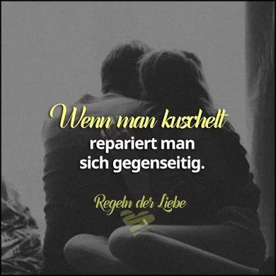 Wenn man kuschelt, repariert man sich gegenseitig