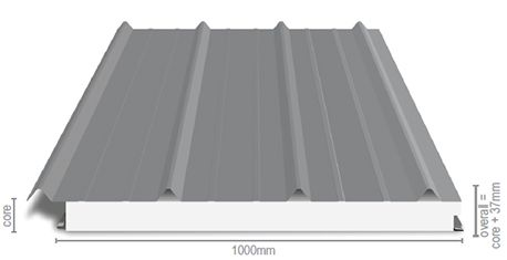 Requiring a miniscule 1 degree pitch, Versiclad's Spacemaker Structural Insulated Roof Panels are truly versatile. Click here for more info.