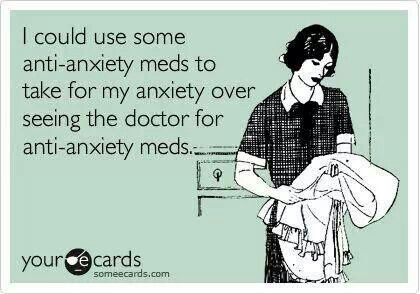 Anxiety humor - this one definately applies to me at the moment. Vicious cycle! Screw you
