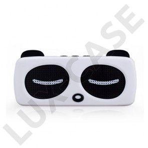 Momax Musik Panda Trådløs Bluetooth Mini-Højtaler – Hvid
