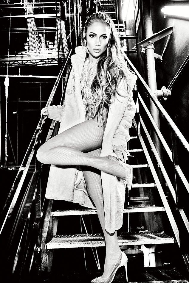 Jennifer Lopez looks sizzling in lingerie for Paper | Daily Mail Online - we ❤️ j lo...x