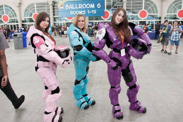 HALO Girls, SDCC 2012 cosplay.