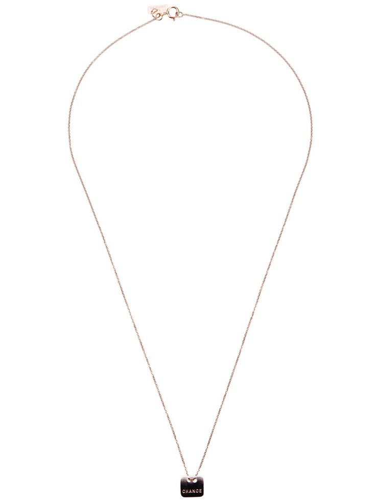 Vanrycke Embossed Necklace - Dolci Trame