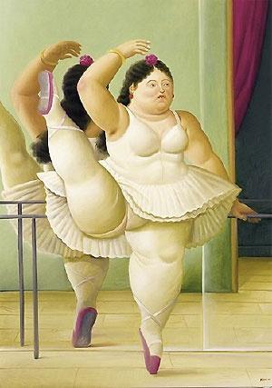 Para los que no lo conocen esta es una de las pinturas de Botero!! Fernando Botero es pintor, escultor y dibujante. Es considerado el artista vivo originaro de Latinoamérica más reconocido y cotizado actualmente en el mundo.