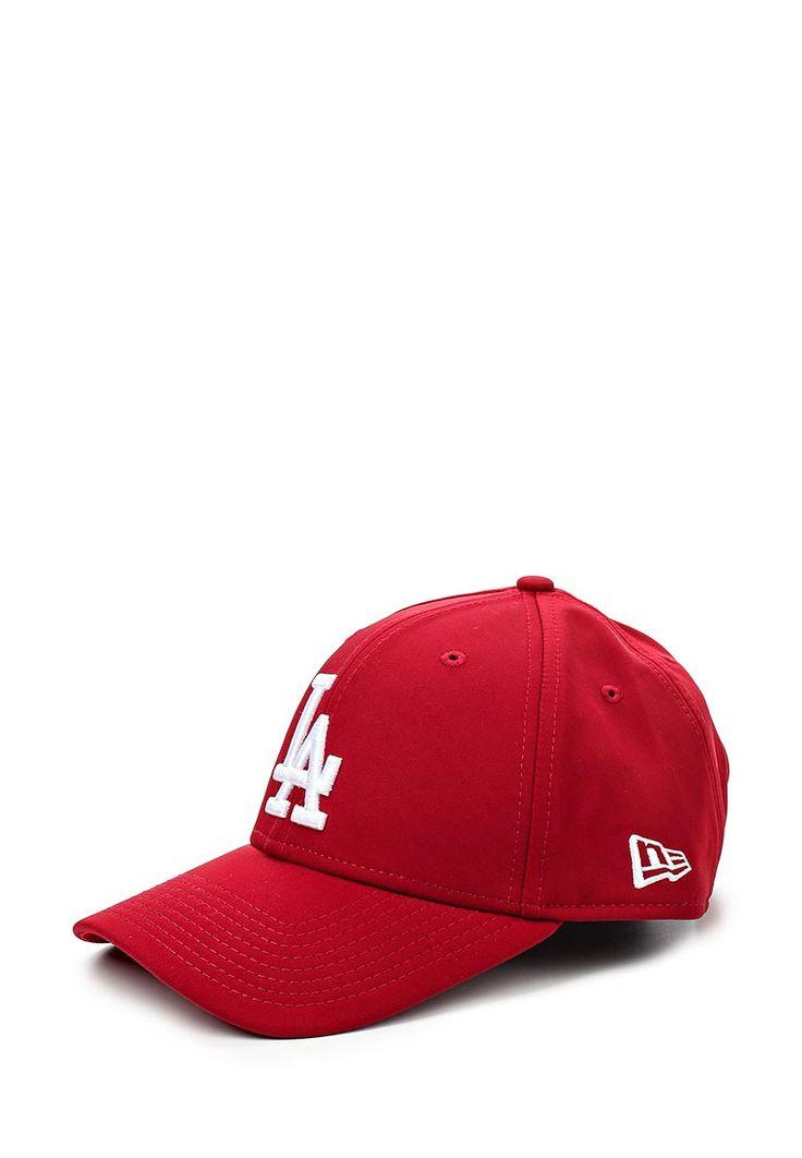 Бейсболка спортивного бренда New Era выполнена из текстиля. Вышивка эмблемы Los Angeles Dodgers спер