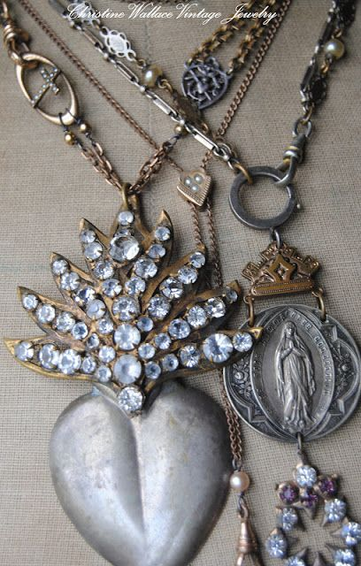"""Christine Wallace... """"Honoring Life Through Jewelry"""": Before Crossing The Pond..."""