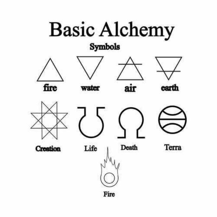 I have a crazy obsession with alchemy and it's meaning                                                                                                                                                      More
