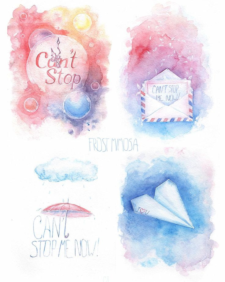 CNBLUE Can't stop MV inspired watercolours by FrostMimosa.deviantart.com on @deviantART