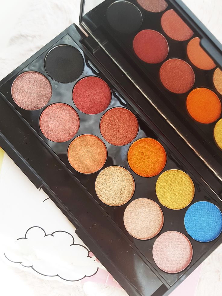Sleek i-Divine Eyeshadow Palette in Sunset Review