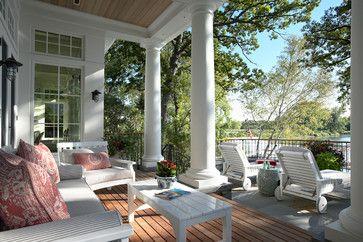 Minnetonka Shingle-Style - traditional - porch - minneapolis - TEA2 Architects