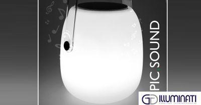 Questo Natale...regala PIC.SOUND. Scopri la lampada musicale!