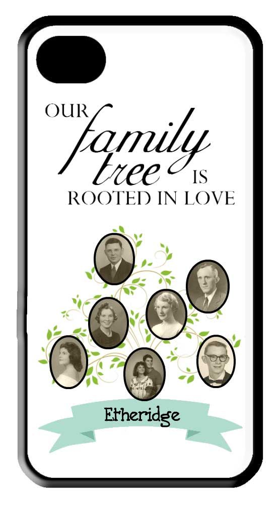 Use this cute custom phone case to celebrate your #family #heritage! Heritage Makers template 110064.