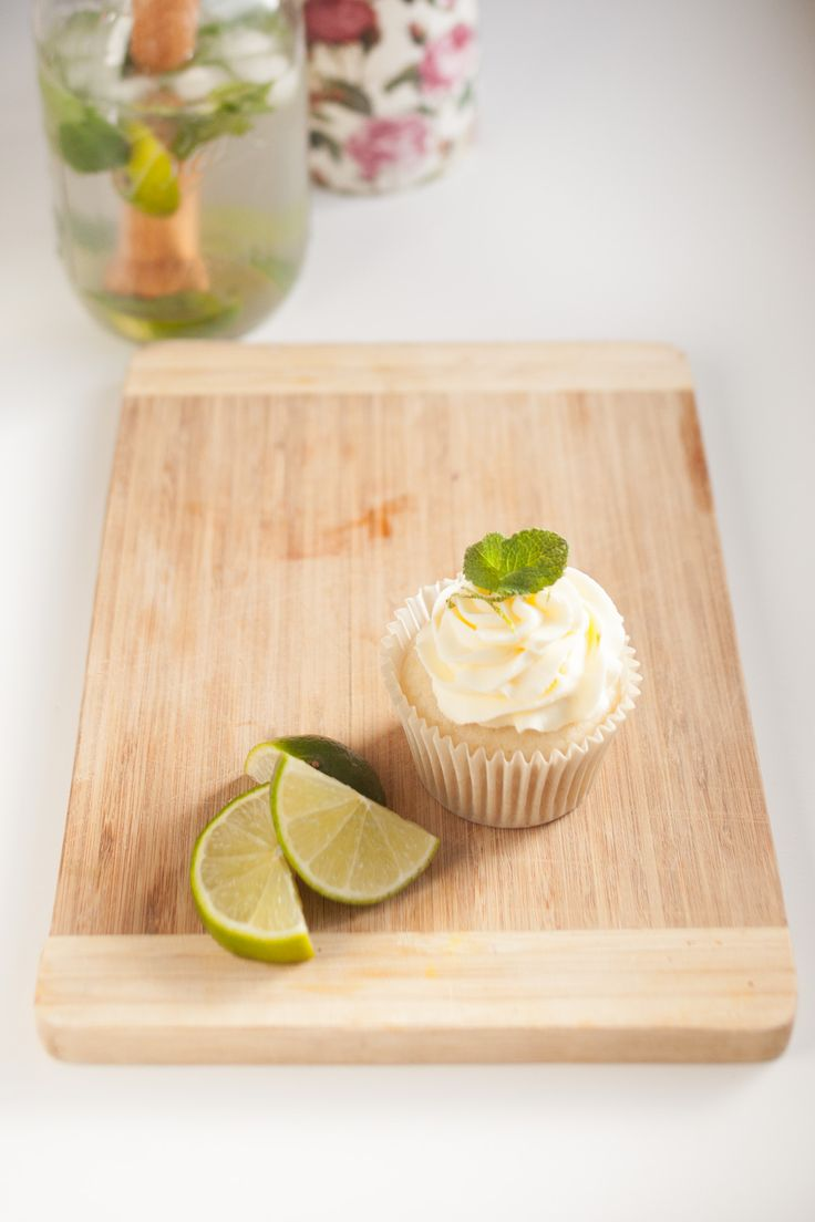 Preparing to release my new Cocktail Cupcake Menu! Mojito Cupcake By Cake Me! Oslo  www.facebook.com/cakemeoslo or email at cakemeoslo@gmail.com for enquiries or orders