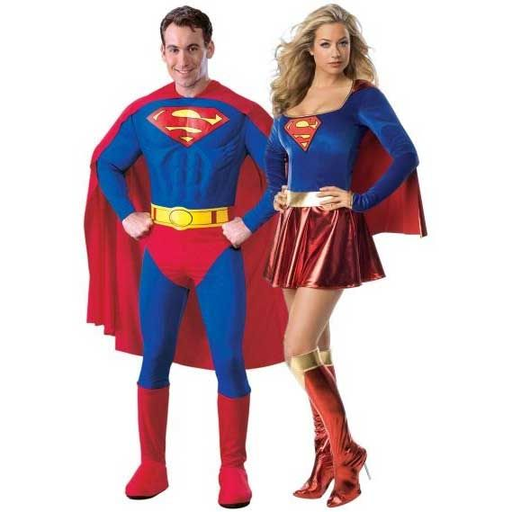 Couples Halloween Costumes Superhero | NGARTI.COM