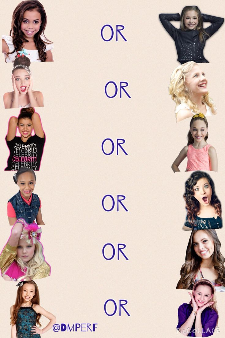 Comment what you think mine a are. I'm not doing who I think is a better dancer, just who is like better.