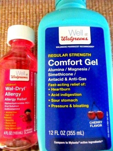 Magic Mouthwash - Mix half/half for canker sore inside ...