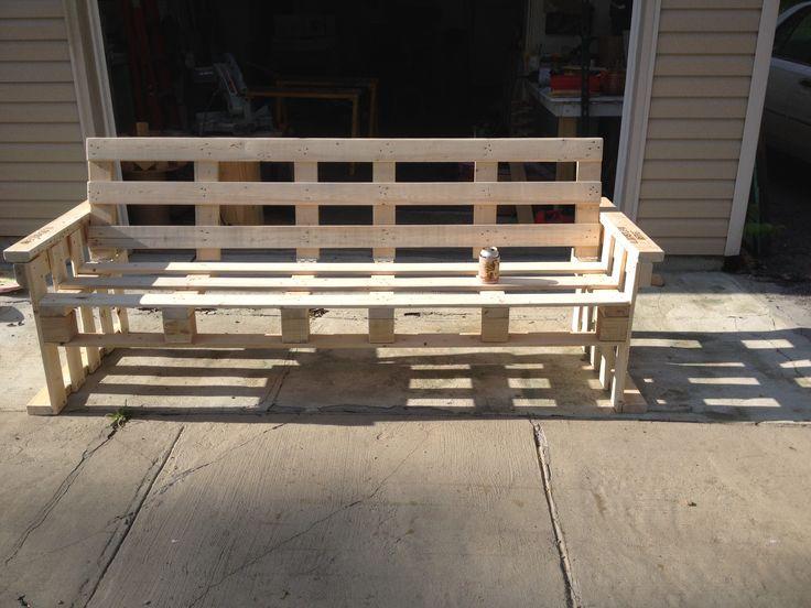 Pallet-wood futon. - 17 Best Ravenwood Furniture And Fixture Images On Pinterest