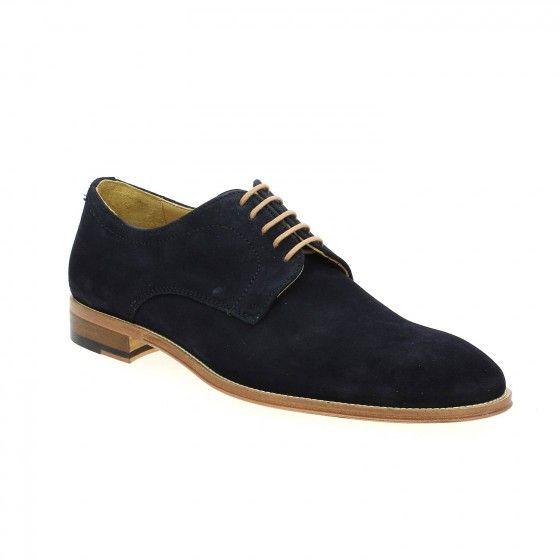 #Bessec Chaussures à lacets #PACO_MILAN PANACHE Bleu à 125€ à découvrir sur www.bessec-chaussures.com ou dans nos magasins !