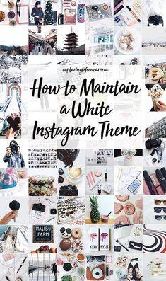 So bearbeite ich mein Instagram 2018 (weißes Design) mit VSCO A6 / HB1 / HB2 Lightroom Facet …