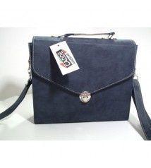 Photo of Mango Model Navy Blue Business Bag- Mango Model Navy Blue …- Mango Model Navy …