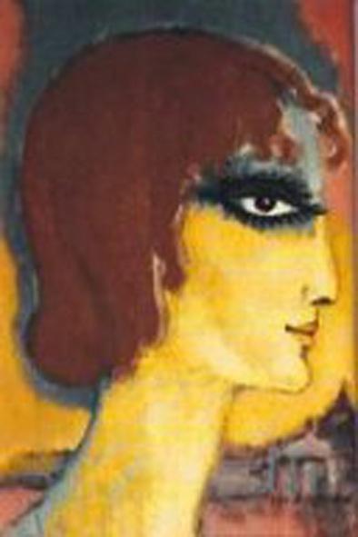 first portraits of Marchesa Luisa Casati by Kees van Dongen, ca. 1920-21