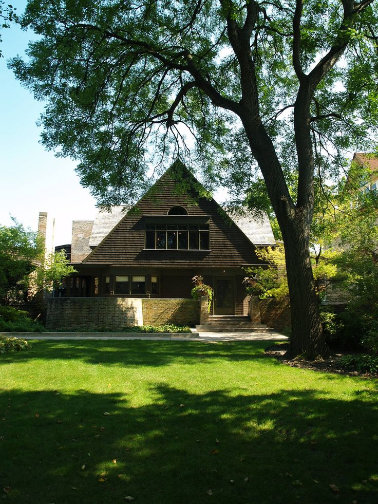 17 best images about frank lloyd wright 39 s own residences - Frank lloyd wright maison ...