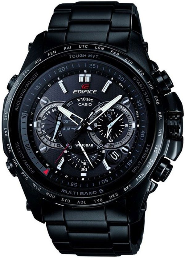 Casio Edifice EQWT720DC-1ALabels Watches, Black Labels, Atoms Watches, Watches Collection, Watches Eqwt720Dc1A, Casio Watches, Edif Watches, Men Atoms, Casio Edifice