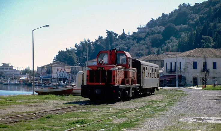 OSE Hellenic Railways_Katakolo. Greece. 1995