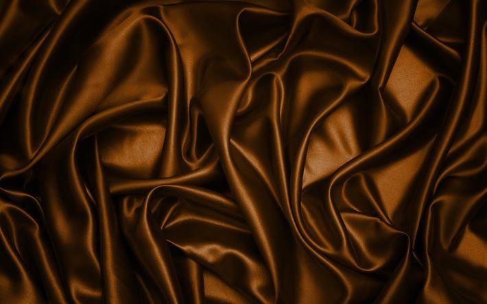 تحميل خلفيات الحرير البني 4k البني نسيج الحرير البني الخلفيات براون ساتان النسيج القوام الساتان الحرير القوام Besthqwallpapers Com Textured Wallpaper Wallpaper Hd Picture