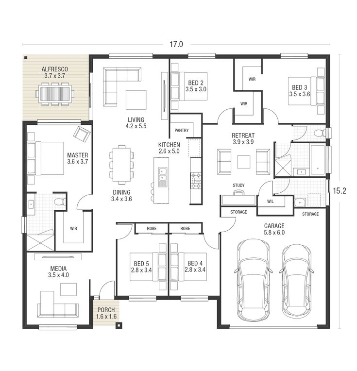 138 best Plan maison images on Pinterest House floor plans