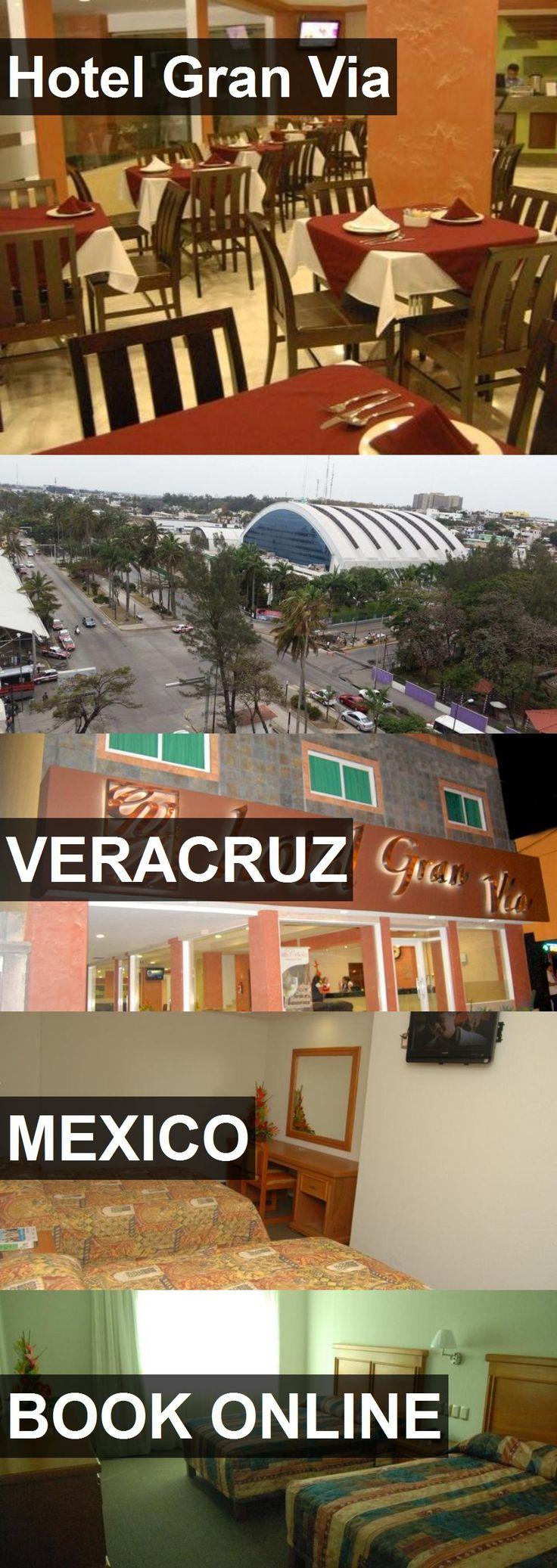 Hotel Gran Via in Veracruz, Mexico. For more information, photos, reviews and best prices please follow the link. #Mexico #Veracruz #travel #vacation #hotel