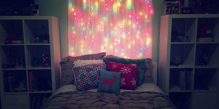 Las 25 mejores ideas sobre luces de cama en pinterest - Decorar tu habitacion ...