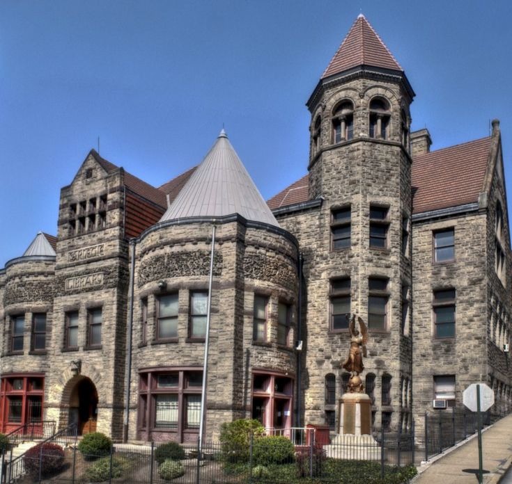 Braddock, Pennsylvania Carnegie library, first Carnegie library built in the United States, 1888