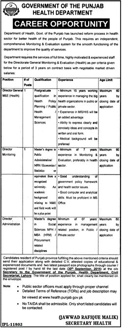 Jobs in Forest Department Govt of Punjab for Field Compounds, Driver