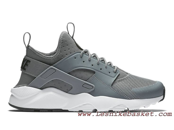 Homme Nike Air Huarache Run Ultra Cool Grey 819685_011 Acher Urh Pas  cher-1704202915 -