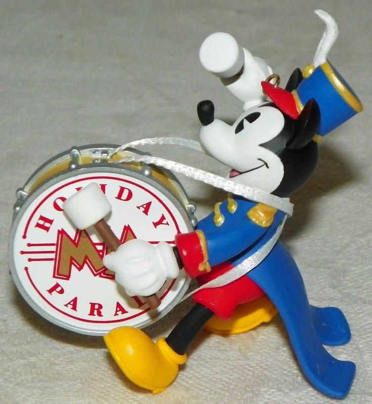 Hallmark Keepsake Ornament Bandleader Mickey Mickey's Holiday Parade 1997 Xmas