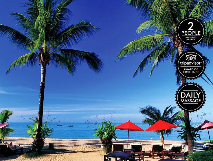 7 Nights for Two People at Ramada Khao Lak - Includes Massages, Daily Meals, Bottle of Wine & More!