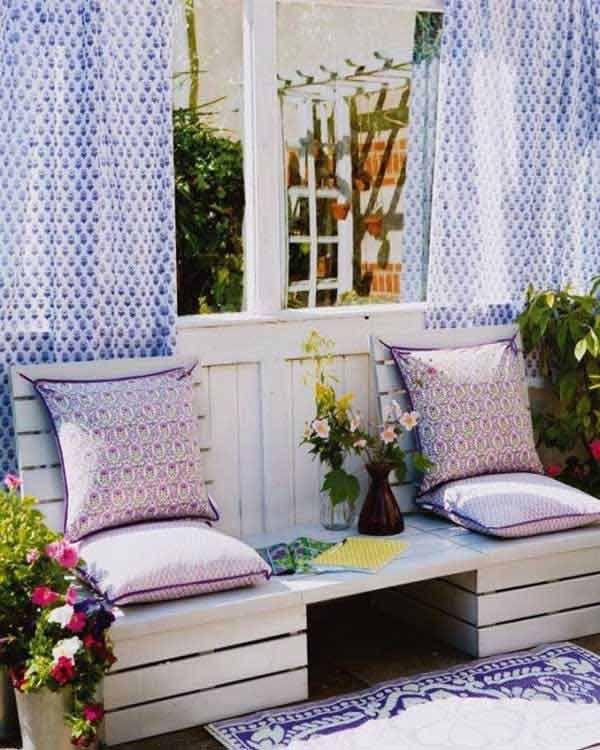 35 Beautiful Garden Benches Projects To Realize This Summer and Emphasize Greenery  homesthetics landscaping (10)