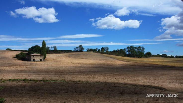 Affinity Photo Tutorial - Foto Optimierung - Toskana Wolken