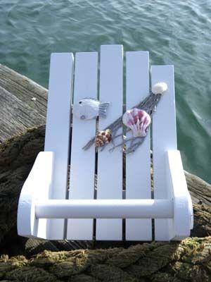 Sea theme Bathroom Nauticals. Toilet paper roll holder