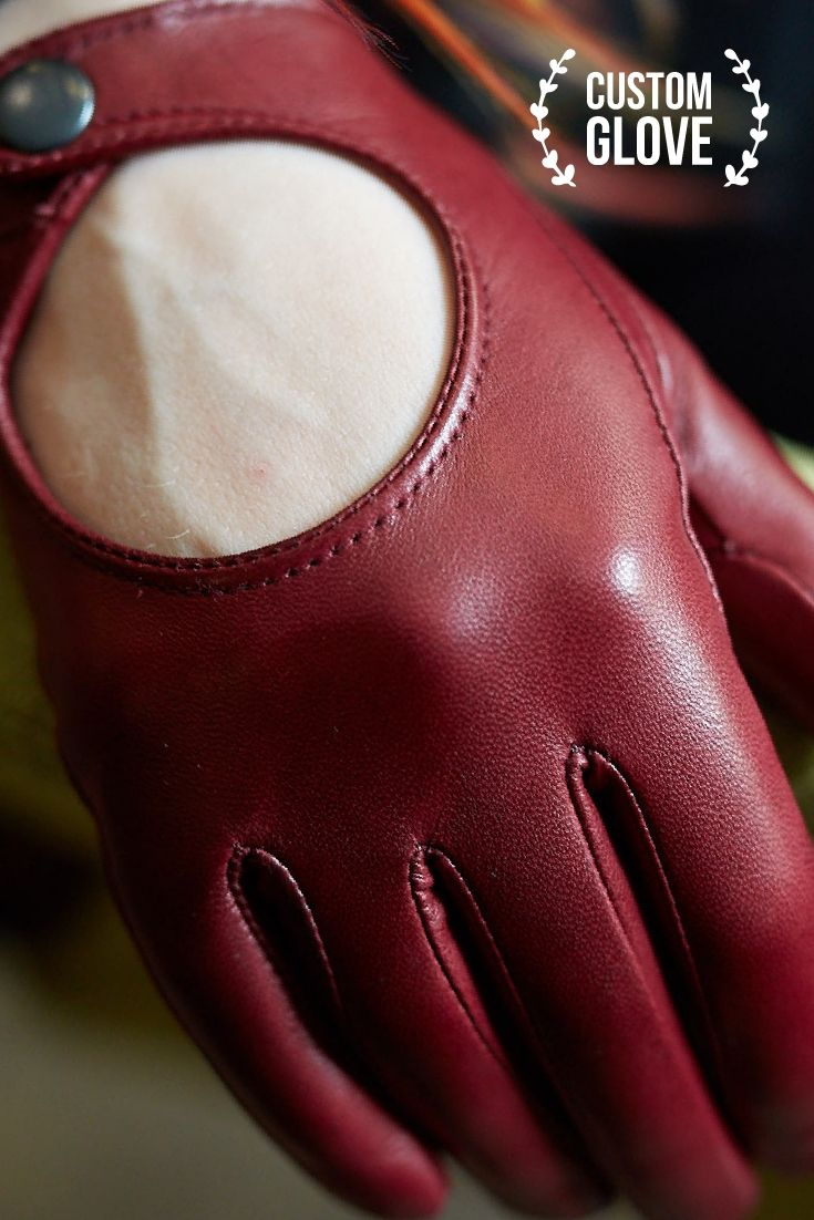 5502f26c6 Women's Custom Driving Gloves by GlovesByMe • Fashion gloves from Italian genuine  leather • Elegant Round Collection of women's accessories for custom order  ...