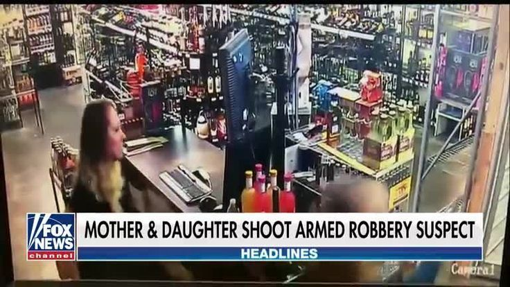 Mother and daughter confront armed robbery suspect