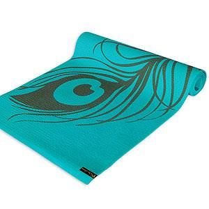 Basic #yoga mats can be so blah. 10 pretty pads to spiff up your practice. #fitnessmagazine