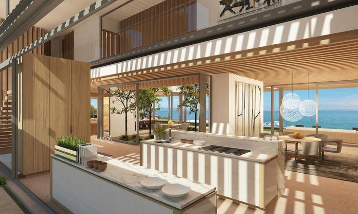 Modern home kitchen interior newyork usa saota for Interior design usa