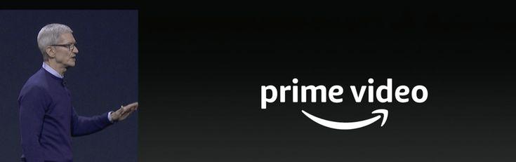 WWDC 2017: Amazon Premium Video arrive sur Apple TV
