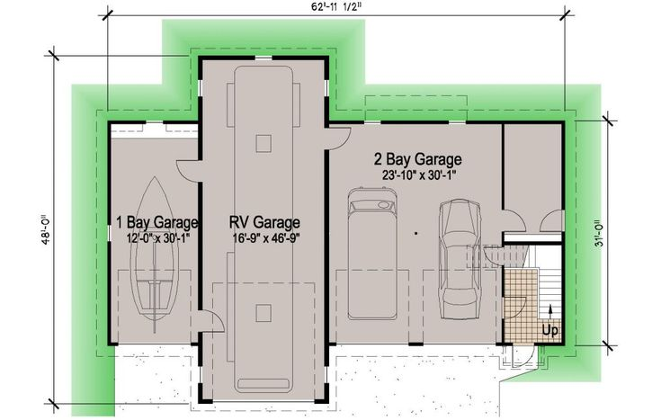 1000 ideas about rv garage on pinterest rv garage plans for Southern living garage apartment plans